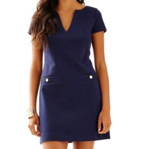 Lilly Pulitzer Layton Short Sleeve Shift Dress